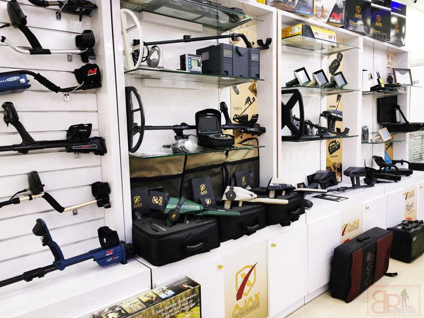 br detectors dubai show room