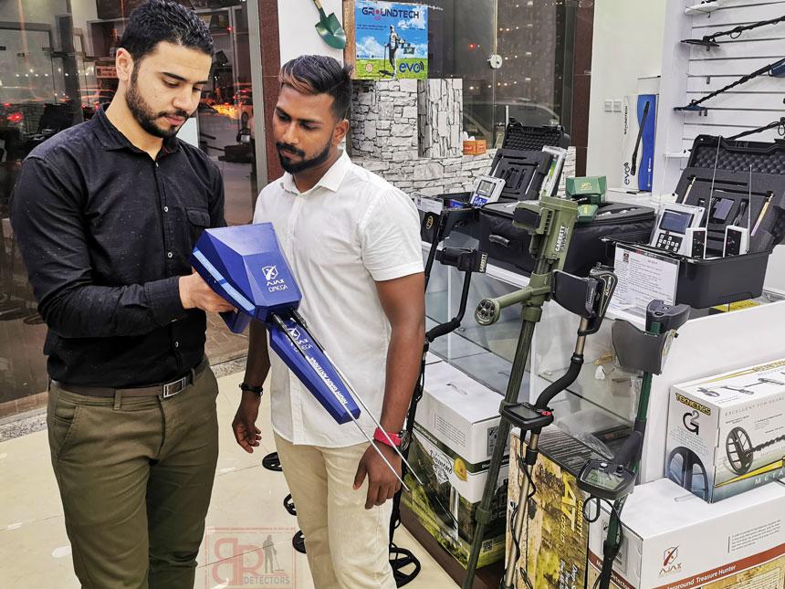 detectors dubai أجهزة الكشف عن الذهب و المياه الجوفية و المعادن